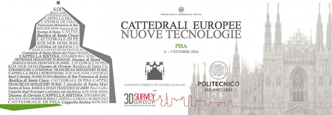 """Conference """"Cattedrali Europee – Nuove tecnologie"""" 2016"""
