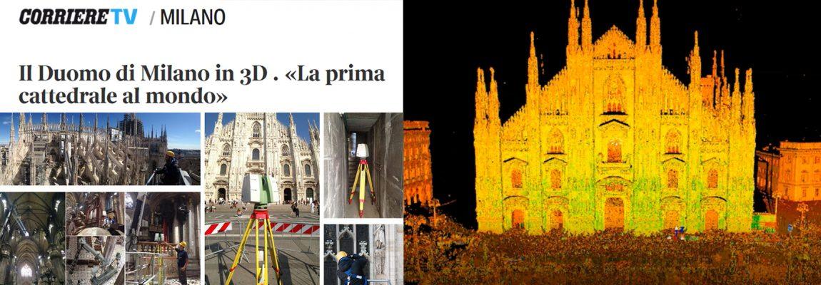 ARTICLE – The Duomo di Milano in 3D – Corriere della Sera