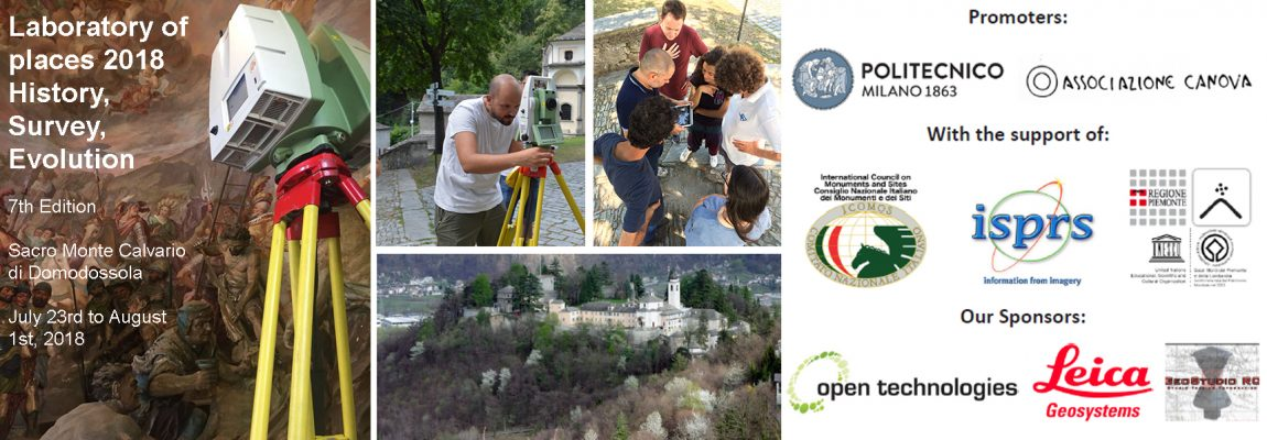 SUMMER SCHOOL LABORATORY OF PLACES 2018 – SACRO MONTE DOMODOSSOLA