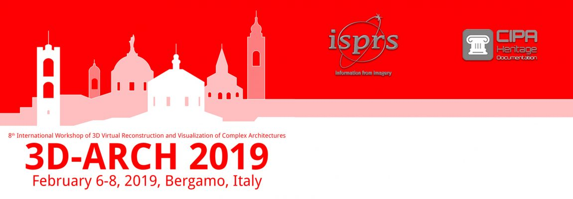 CALL FOR ABSTRACTS: 3D-ARCH 2019, BERGAMO